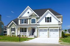 The Cheapeake - Elevation C - at Sawgrass North in Rehoboth Beach, Delaware.