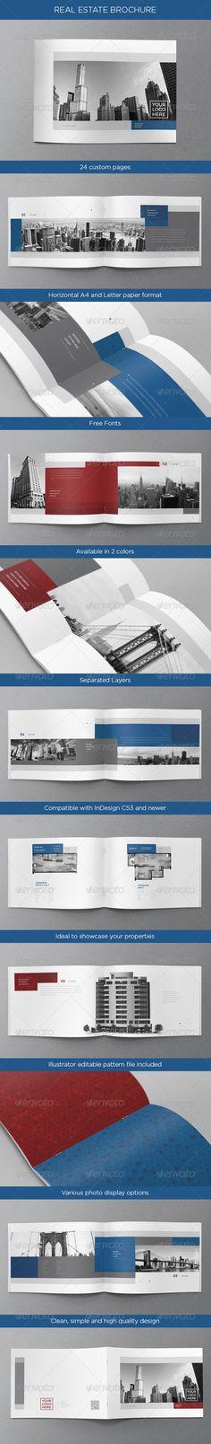 Real Estate Brochure - GraphicRiver Item for Sale