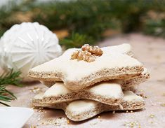 Blondies, Christmas Cookies, Fudge, Cake Recipes, Food And Drink, Healthy Eating, Cooking Recipes, Xmas, Sweets
