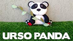 Ursinho Panda em Feltro - Passo a Passo