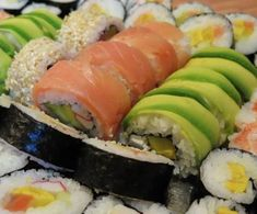 Sushi, Food And Drink, Fit, Ethnic Recipes, Shape, Sushi Rolls