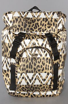 Joyrich  The Native Leopard Belted Backpack    $132.00