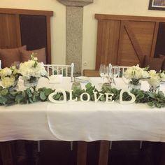 svatební tabule - restaurace Lihovar