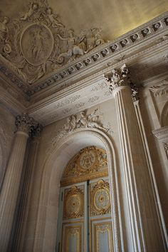Greater Paris, Versailles Grand Parc, Versailles: Palace, interior detail