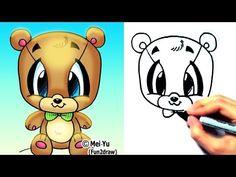 cartoon animals to draw - Google Search
