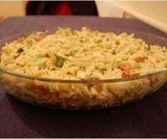 Receita de Salada de macarrão colorida rapida - Show de Receitas