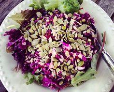 Purple Cabbage Summer Slaw
