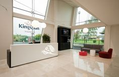 Lighting Design Projects: Kingspan Insulation Head Quarters in Monaghan  #lightingprojects #designprojects #interiordesign #lighting