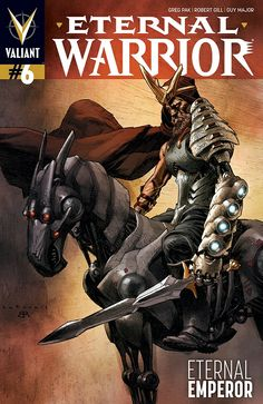 Eternal Warrior #6 regular cover by Lewis Larosa