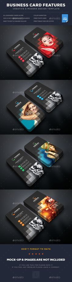 Photography Business Card  - PSD Template • Only available here ➝ http://graphicriver.net/item/photography-business-card/16824618?ref=pxcr
