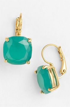 kate spade new york boxed drop earrings available at #Nordstrom