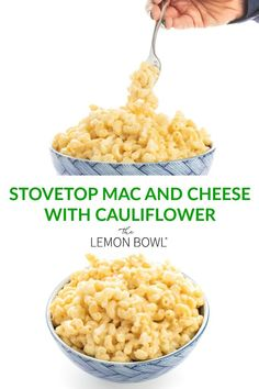 Stovetop Mac and Cheese with Cauliflower - Ready in just twenty minutes, this cheesy stovetop Mac and Cheese is made with bite-sized pieces of cauliflower for added fiber and nutrients. #TillamookCheese  #Tillamook_Partner #DairyDoneRight #MacnCheese #Dinner #FamilyFriendly #Veggies #Cauliflower #ComfortFood