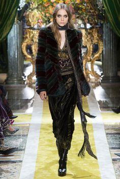 Roberto Cavalli MFW Fall/Winter 2016-2017 - so-sophisticated.com