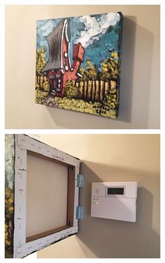 20 unique ways to hide clutter and valuables: DIY - Home Decor Ideas Hidden Storage, Hidden Tv, Wall Storage, Clever Storage Ideas, Hidden Safe, Secret Storage, Hidden Rooms, Entryway Storage, Diy Storage