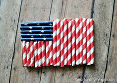 With Memorial Day coming up on Monday and the Fourth of July not too far after it, it's the perfect time to make a patriotic flag craft to remember all of those who have and are serving in the military. I got out our patriotic paper straws the other day and we made this simple …
