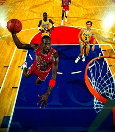 Michael Jordan, Chicago Bulls.