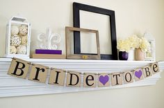 Bridal Shower - Bride To Be Sign - Bride To Be Banner - Bridal Shower Decorations - Bridal Shower Banner - Bachelorette Party -Navy- Custom