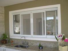 porta balcão de aluminio branco 4 folhas - Pesquisa Google