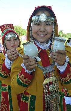 Yakut costume ~ Siberia, Russia