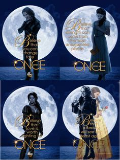 Once Upon A Time - Belle and Rumple