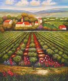 """""""Tuscan Vineyard 32"""""""