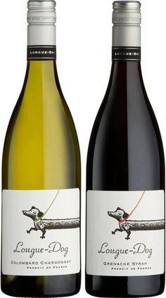 Longue-Dog wine----so my style Mini Dachshund, Daschund, Weenie Dogs, Doggies, Wine Packaging, In Vino Veritas, Dog Love, Best Dogs, Whippets