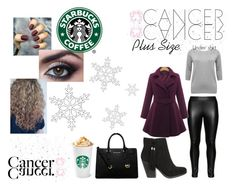 """Cancer, plus size fashion"" by vanilla1 ❤ liked on Polyvore featuring Studio, M&Co, MICHAEL Michael Kors, Winter, snow, cancer, plussize and whatsyoursign"