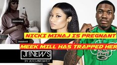 Nicki Minaj PREGNANT Meek Mill Instagrams the BELLY PICTURE. She is TRAP...