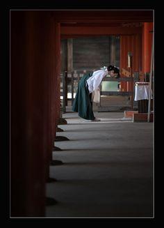 In Kasuga Shrine/Nara,Japan