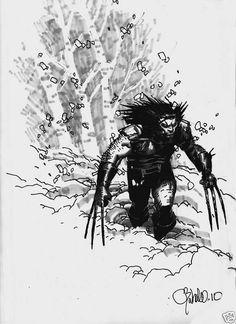 Chris Bachalo - Wolverine @Ajene Palmer