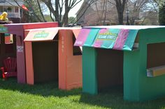 Stores at a Sesame Street Party #sesamestreet #party
