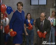 Will Ferrell as Janet Reno on SNL