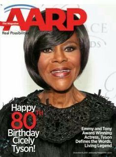 Cecily Tyson,  80 years old and fabulous!