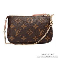 7ad533a1d27bc Louis Vuitton M60417 Mini Pochette Accessoires Trunks   Lock Monogram Canvas