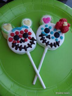 Dia de los Muertos Cake Pops