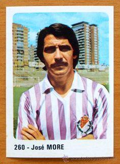 Valladolid - 260 Moré - Cromo Crom/Panini 1980-1981, 80-81- Nunca pegado