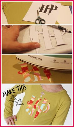 make a harry potter tshirt - applique - great for boys or girls! - - Sugar Bee Crafts