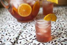 Iced Orange Vanilla Infused Hibiscus Green Tea | The Pescetarian and the PigThe Pescetarian and the Pig