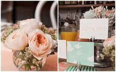 Inspired by This Peach, Pink, and Mint Bridal Shower - Inspired By This