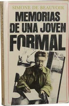 Memorias de una joven formal. Simone de Beauvoir
