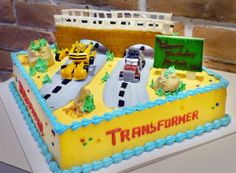 Image detail for -Transformers Cakes | Transformer Birthday Cakes | Sweet Secrets Hong ...