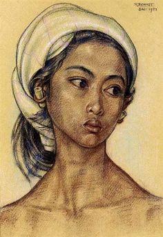 Rudolf Bonnet - Gadis Bali