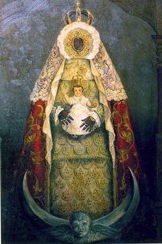 Virgen Negra de los Milagros. Luis Ortega.