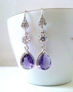 Statement Bridal Earrings Chandelier Wedding Earrings Large ...