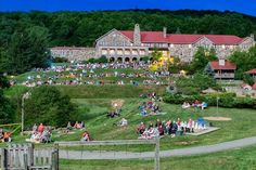 """Mountain Lake Resort where the movie """"Dirty Dancing"""" was filmed in Virginia's Blue Ridge Mountains"""