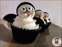 Miri´s süße Welt: [Adventskalender] Türchen Nr. 1 Pinguin Oreo Cupcakes