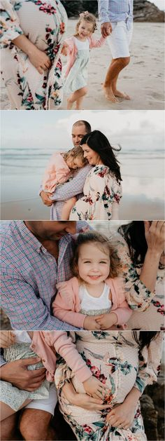 Bec Zacher Gold Coast Family Photographer. Maternity beach photography session.