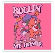 iphone wallpaper retro Rollin With My Homies Sticker - - Bedroom Wall Collage, Photo Wall Collage, Picture Wall, Poster Collage, Aesthetic Indie, Aesthetic Collage, Aesthetic Memes, Aesthetic Painting, Aesthetic Pastel