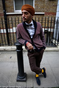 Pardeep Singh Bahra, the founder of Singh Street Style.