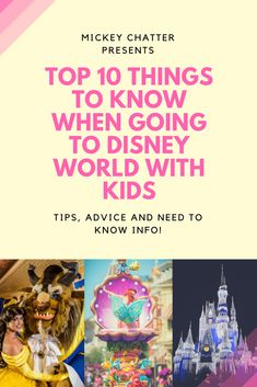 Disney World with Kids, tips and info on what you should know if travelling to Disney with kids Disney World Planning, Disney World Vacation, Disney Cruise Line, Disney World Resorts, Disney Vacations, Walt Disney World, Disney Worlds, Disney Travel, Disney World Tips And Tricks